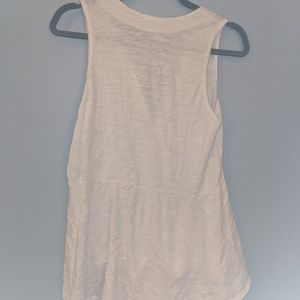 Anthropologie Tops - Left of center - white tunic top - M